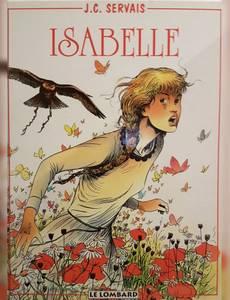 Couverture du premier album de la série Isabelle (servais)