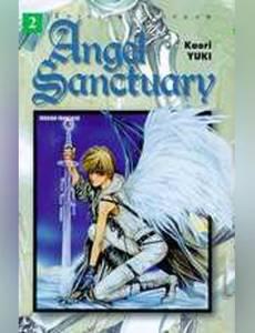 Couverture du premier album de la série Angel Sanctuary