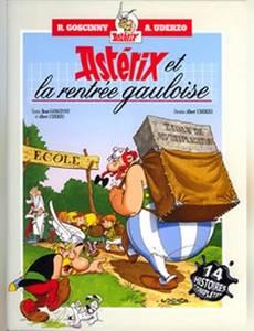 Couverture du premier album de la série Astérix (France Loisirs)