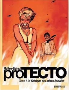 Couverture du premier album de la série Protecto