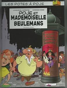Couverture de l'album Poje et Mademoiselle Beulemans