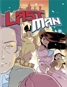 couverture album Lastman