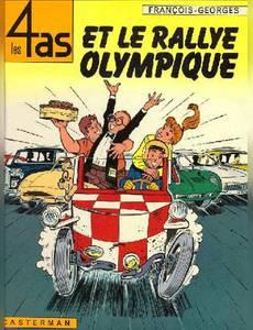 Couverture de l'album Les 4as et le Rallye Olympique