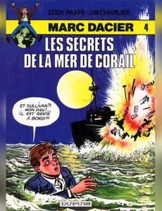 Couverture du premier album de la série Marc Dacier (couleurs)