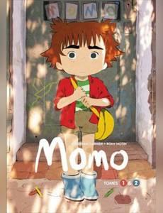 Couverture du premier album de la série Momo