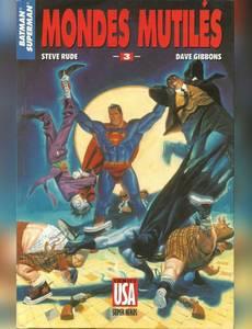 Couverture de l'album Batman & Superman 3/3 - Mondes Mutilés