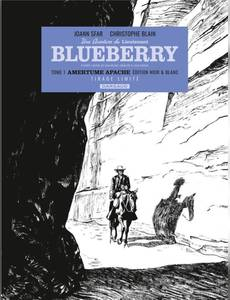 Couverture du premier album de la série Blueberry Par... - Lieutenant Blueberry