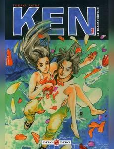 Couverture du premier album de la série Ken le Transporteur