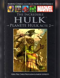Couverture de l'album The Incredible Hulk - Planète Hulk Acte 2