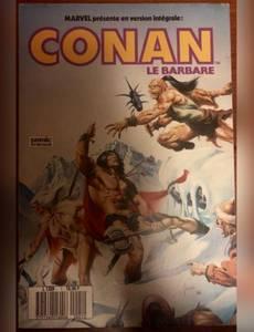 Couverture du premier album de la série Conan le barbare