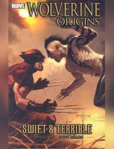 Couverture du premier album de la série Wolverine : Origins