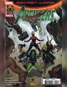 Couverture du premier album de la série Secret War - Avengers