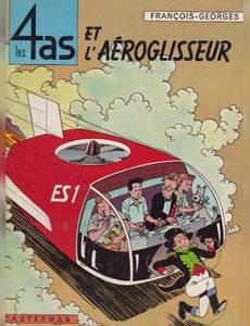 Couverture de l'album Les 4as et l'Aéroglisseur