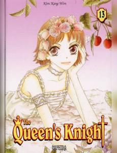 Couverture du premier album de la série The Queen's Knight - samji