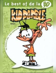Couverture de l'album Le best of de la BD - Kid Paddle