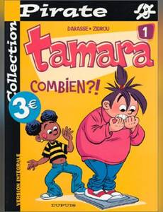 Couverture du premier album de la série Tamara (Pirate)