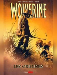 Couverture du premier album de la série Wolverine les Origines