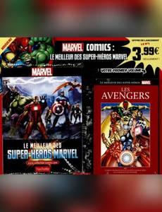 Couverture de l'album Les Avengers