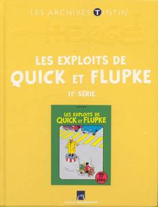 Couverture de l'album Les Exploits de Quick et Flupke - 11e série