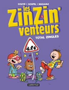 Couverture du premier album de la série Les Zinzinventeurs