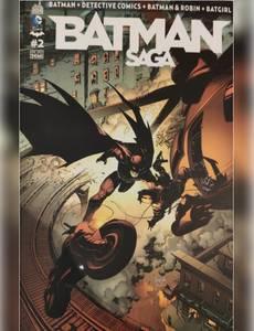 Couverture de l'album Batman Saga