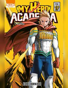 Couverture du premier album de la série My Hero Academia - édition collector