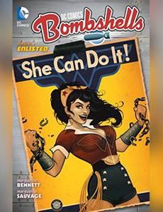 Couverture du premier album de la série DC Bombshells