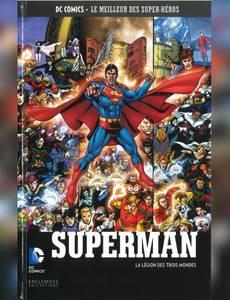 Couverture de l'album Superman - la Légion des Trois Mondes