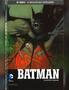 Couverture de l'album Batman - Les Patients d'Arkham