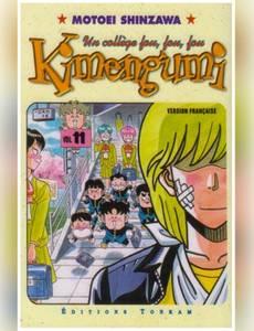 Couverture de l'album Kimengumi, un collège fou fou fou, tome 11