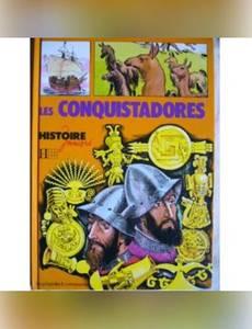 Couverture de l'album Les Conquistadores (Histoire juniors)