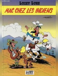 Couverture de l'album Mac chez les Indiens