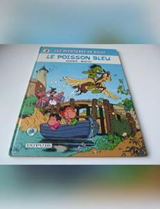 Couverture de l'album Le Poisson bleu