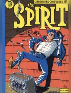 Couverture de l'album 12 histoires complètes du spirit n°1
