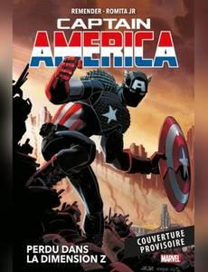 Couverture du premier album de la série Captain America