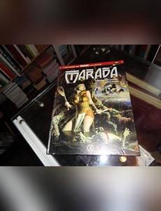 Couverture du premier album de la série L'Odyssée de Marada la Louve