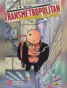 Couverture du premier album de la série Transmetropolitan