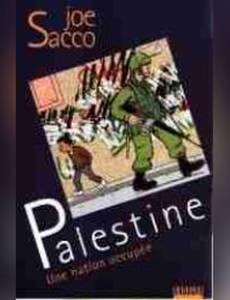 Couverture du premier album de la série Palestine