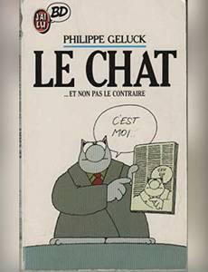 Couverture du premier album de la série Le Chat