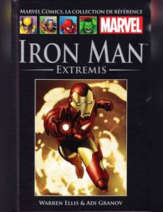 Couverture de l'album Iron Man - Extremis