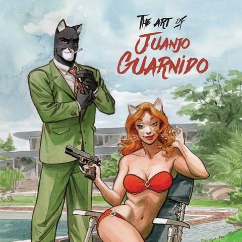The Art of Juanjo Guarnido-Artbook : The Art of Juanjo Guarnido - Bubble BD, Comics et Mangas