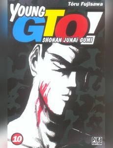 Couverture du premier album de la série Young Gto