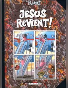 Couverture du premier album de la série Sacré Jésus !