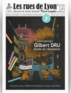 Couverture de l'album Gilbert Dru, école en résistance