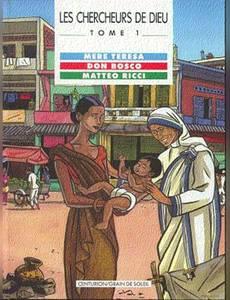Couverture de l'album Mère Teresa, Don Bosco et Matteo Ricci