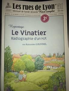 Couverture de l'album Le vinatier, radiographie d'un HP