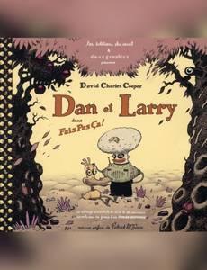 Couverture du premier album de la série Dan et Larry