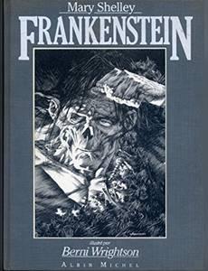 Couverture du premier album de la série Frankenstein