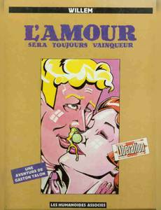 Couverture du premier album de la série L'Amour Sera Toujours Vainqueur