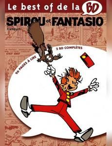 Couverture de l'album Le best of de la BD - Spirou et Fantasio